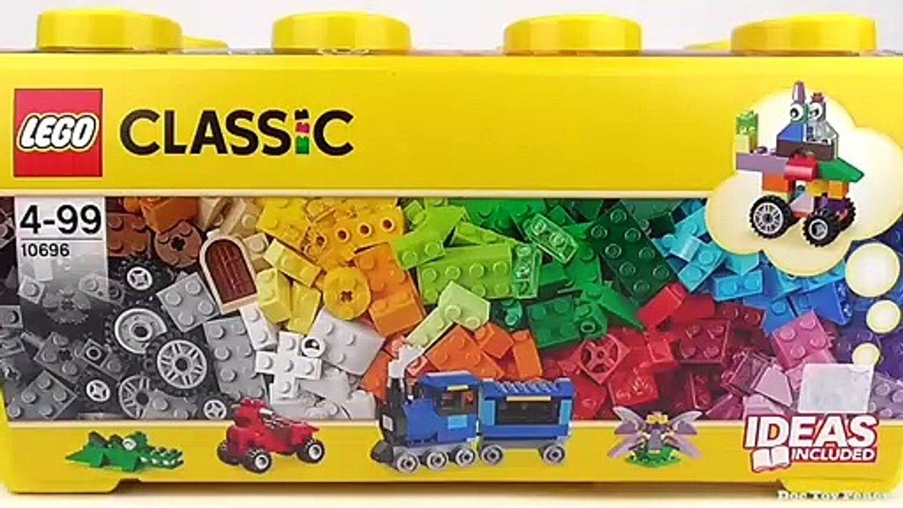 Lego Classic Medium Creative Brick Box 10696 Toy Unboxing And Building Ideas Video Dailymotion