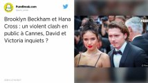 Cannes. Le fils de David Beckham et sa petite amie se disputent au restaurant, la sécurité intervient