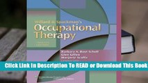 Online Willard and Spackman's Occupational Therapy  For Kindle