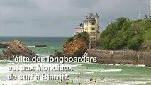 Le Longboard: le surf en lévitation à l'honneur à Biarritz