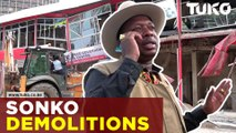 Sonko demolishes building after clash with owner | Tuko TV