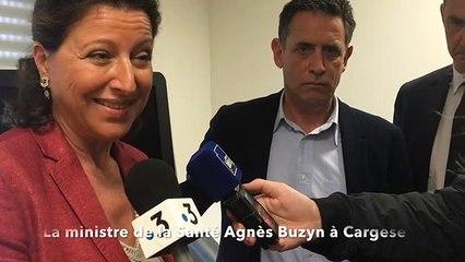 Agès Buzyn à Cargese : L'offre de soins en Corse sera améliorée