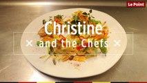 Christine and the Chefs #16: Langoustines, petit jus et légumes colorés
