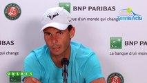 """Roland-Garros 2019 - Rafael Nadal et sa méthode de travail : """"J'étais déjà un gros bosseur quand j'étais enfant"""""""
