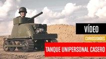 [CH] El tanque unipersonal que puedes construir tu mismo