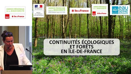 """9 - Julie COLLOMBAT-DUBOIS - Rencontre technique """"Continuités écologiques et forêts"""" 2019"""