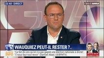 """Pour Damien Abad (LR), """"le problème de François-Xavier Bellamy, c'est sa ligne politique"""""""