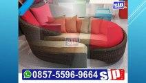 0857-5596-9664, Kursi Santai Rotan Pantai, Kursi Santai Rotan Modern, Kursi Santai Rotan Minimalis