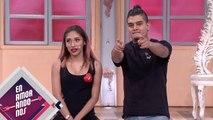 ¡Pau le hizo CAMBIO DE LOOK medio manchado a Esteban! | Enamorándonos