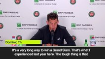 (Subtitled) Thiem on beating Nadal, Djokovic and Federer to a Grand Slam