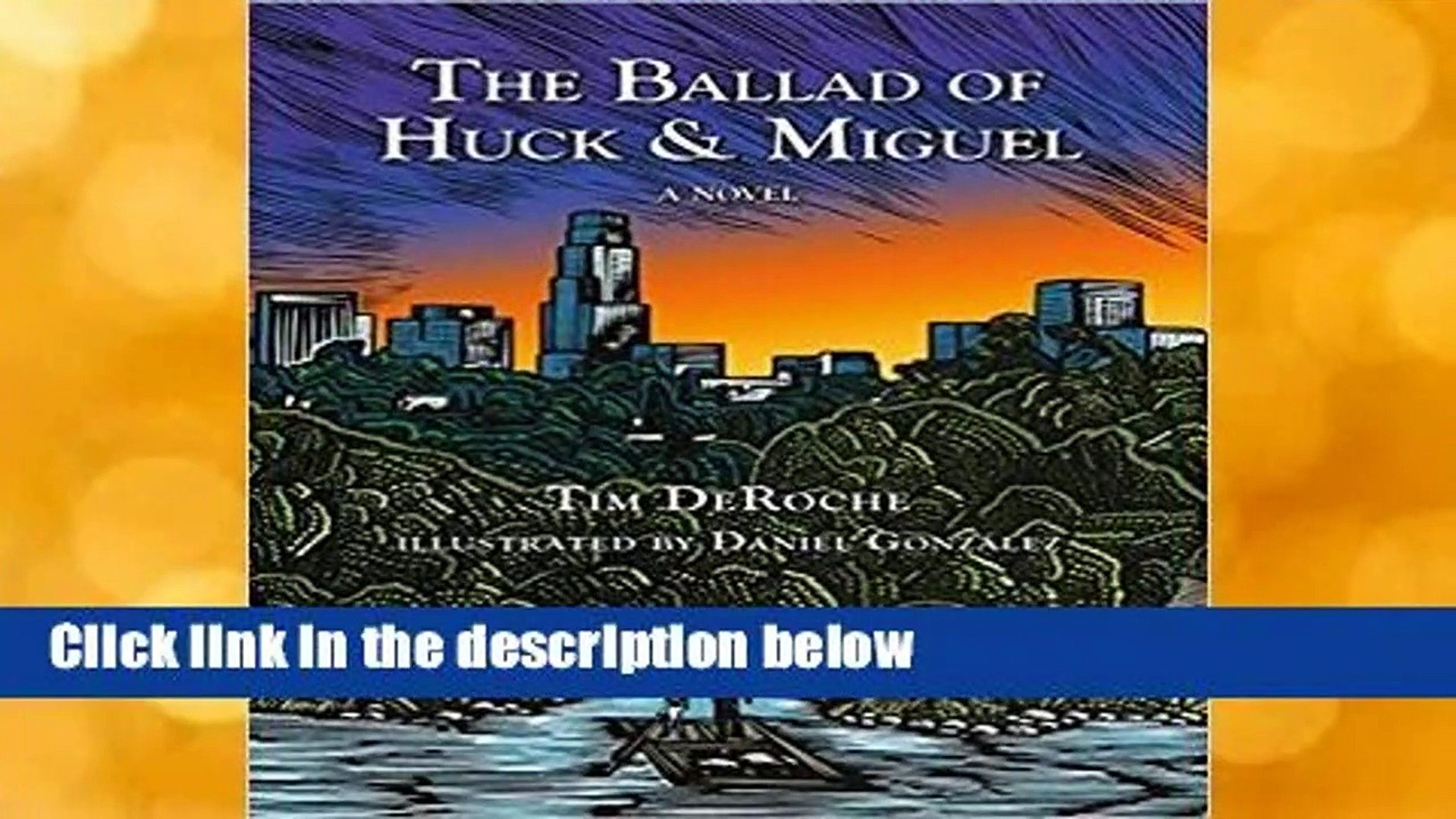 About For Books  The Ballad of Huck & Miguel  Review