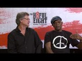 "The Hateful Eight: ""We've filmed in colder conditions"" - Kurt Russell and Samuel L Jackson"