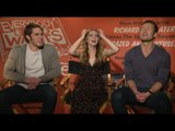 "Zoey Deutch, Blake Jenner & Glen Powell talk Linklater's ""Everybody Wants Some!!"""