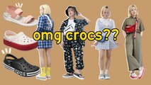 We wore & styled crocs (not stylish ugly) Q2HAN