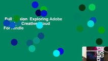 Full version  Exploring Adobe Indesign Creative Cloud  For Kindle
