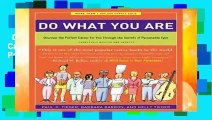 Do What You Are: Discover the Perfect Career for You Through the Secrets of Personality Type -