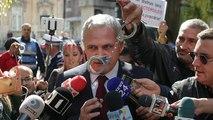 Liviu Dragnea, l'homme fort de la gauche en Roumanie, derrière les barreaux