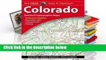 About For Books  Delorme Colorado Atlas & Gazetteer 12e Complete