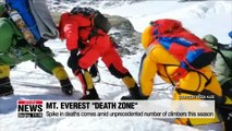 Spike in Mt. Everest deaths blamed on long queues at unbreathable altitudes