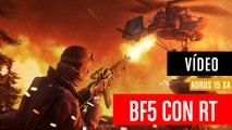 Battlefield 5 con raytracing  en Gigabyte Aorus 15 XA