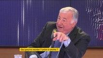 """Gérard Larcher absent du bureau politique : """"J'avais dit à Laurent Wauquiez que cette réunion était prématurée. On n'était pas à 24 heures près, si ce n'est pour conjurer une angoisse"""""""