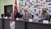 SPOR Bursaspor'da divan kurulu toplantısı gerçekleştirildi