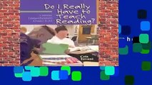 About For Books  Do I Really Have to Teach Reading?: Content Comprehension, Grades 6-12  Review