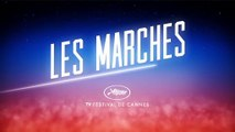 On the red carpet at Cannes to celebrate 70 years of UniFrance / La montée des marches des 70 ans d'UniFrance