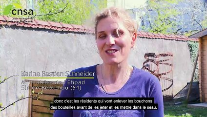 Le développement durable à l'EHPAD Simon Benichou : des résidents qui recyclent