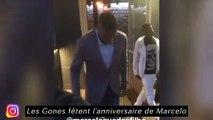 Les parisiens actifs pour la fondation PSG - Les Gones fêtent l'anniversaire de Marcelo