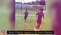 Rémy Cabella régale à l'AS St Etienne - Le vestiaire du LOSC est bien heureux