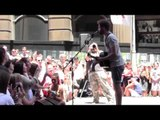 """LIVE: Passenger performing """"Holes"""" in Martin Place, Sydney"""