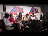 ARIA Winners Tame Impala talk with Robbie Buck and media backstage.