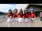 Interview: Crayon Pop (크레용팝) talks about Sydney and their helmets (ENG SUB)