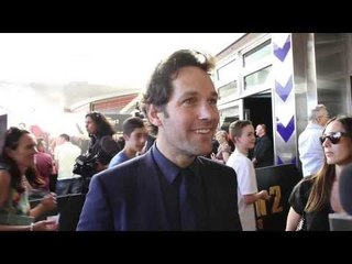 Interview: Paul Rudd talks Anchorman 2 and Australia.