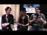 """Melanie Lynskey, Maggie Grace and Jason Ritter from """"We'll Never Have Paris"""" at SXSW 2014."""