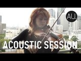"Lindsey Stirling ""Shatter Me"" - Live on a balcony in Sydney, Australia"