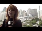 Lindsey Stirling Interview in Sydney, Australia