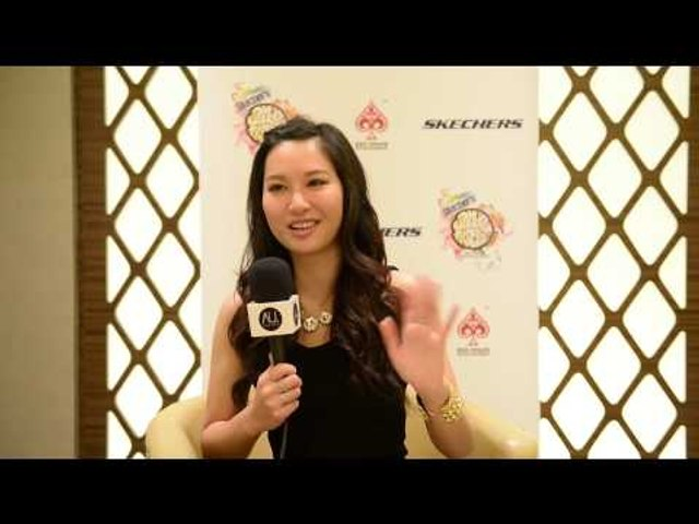 Kate Tsui 徐子珊 (Hong Kong) talks about her TVB acting career and falling for Sam Smith