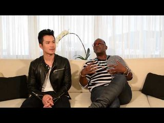 Randy Jackson (USA) And Wiltay (Singapore) on thoughts about Chinese music industry