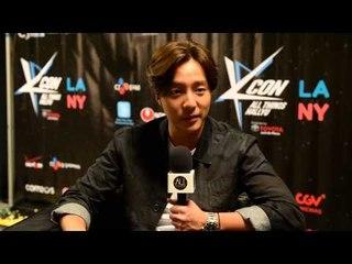 Roy Kim (South Korea) talks KCON 2015 LA and new album
