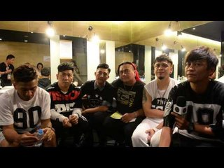 Boxing (Taiwan) talk influences backstage at the Golden Melody Awards festival 2015