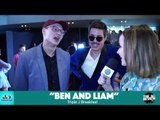 """ARIAs 2018: """"BEN AND LIAM"""" (definitely the real Ben and Liam)"""