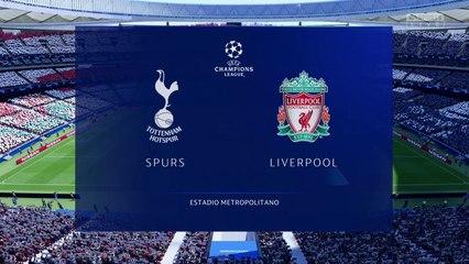 Tottenham Hotspur vs. Liverpool - UEFA Champions League Final 2019 - CPU Prediction