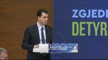 RTV Ora - Opozita prezanton platformën e qeverisë tranzitore: Zgjedhje me Ramën, nuk do të ketë