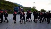Protesta e opozitës në Gjirokastër (Pa koment)  - Top Channel Albania - News - Lajme