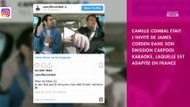 Camille Combal : Son Carpool Karaoke avec James Corden sur le tube de Vegedream