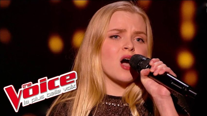 Yves Montand – Les feuilles mortes   Johanna Serrano   The Voice France 2015   Épreuve Ultime