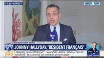 """L'avocat de Laeticia Hallyday se dit """"consterné"""" par la décision de la justice française de se saisir du litige"""