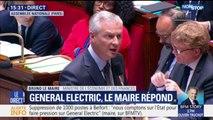 """Suppression de 1000 postes par General Electric : Bruno Le Maire annonce un """"accompagnement personnalisé"""" pour chaque ouvrier"""